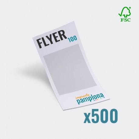 Flyers a color 100x210mm