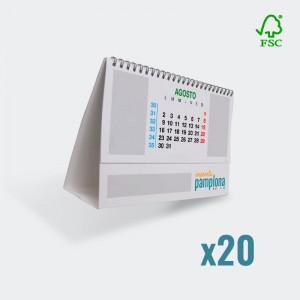 Calendario 200x100mm
