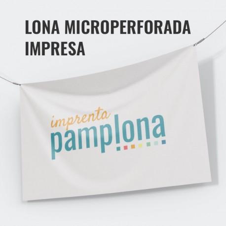 Lona Microperforada Impresa